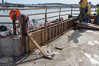 Boathouse at Canal Dock Phase II   State Project #92-570/92-674 Construction Progress Photo Documentation No. 08 on 21 February 2017. Image No. 10