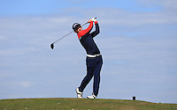 Tom Jordan during Round Two of the West of England Championship 2016, at Royal North Devon Golf Club, Westward Ho!, Devon  23/04/2016. Picture: Golffile | David Lloyd<br /> <br /> All photos usage must carry mandatory copyright credit (&copy; Golffile | David Lloyd)
