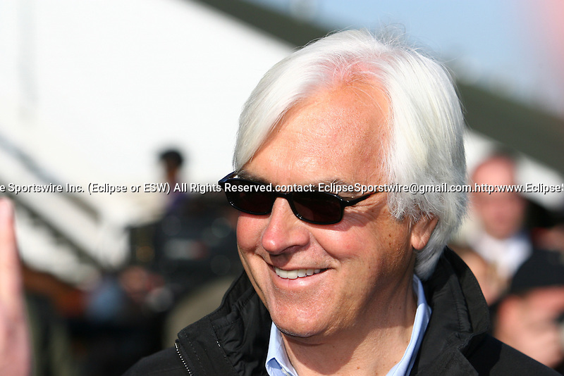 29 April 2010: Bob Baffert at Churchill Downs, Louisville, KY.