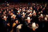 Boy scouts of america at the opening ceremony in texas hats.Photo: Magnus Fröderberg/Scouterna