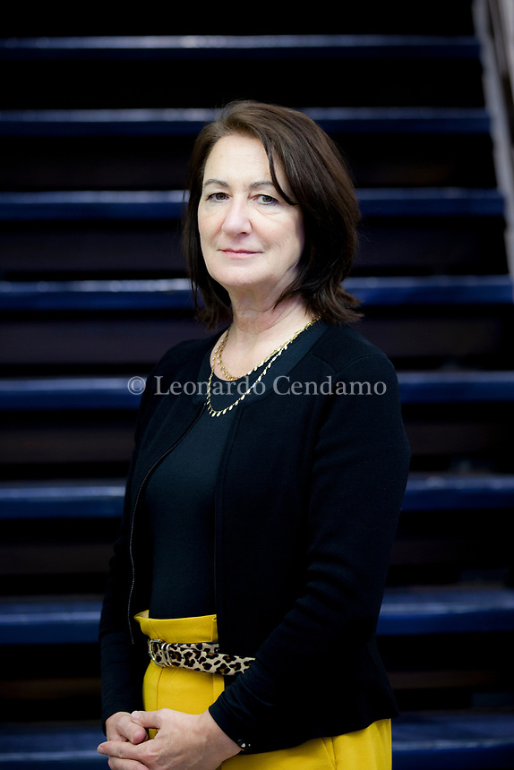 New York Times and USA Today bestselling author of Behind Closed Doors, B. A. Paris, grew up in England but has spent most of her adult life in France. She has worked in finance and as a teacher. Milan 1 febbraio 2019. © Leonardo Cendamo