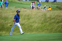 Kevin Na (USA) approaches the 11th green during Thursday's round 1 of the 117th U.S. Open, at Erin Hills, Erin, Wisconsin. 6/15/2017.<br /> Picture: Golffile | Ken Murray<br /> <br /> <br /> All photo usage must carry mandatory copyright credit (&copy; Golffile | Ken Murray)