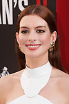Anne Hathaway arrives at the World Premiere of Ocean's 8 at Alice Tully Hall in New York City, on June 5, 2018.