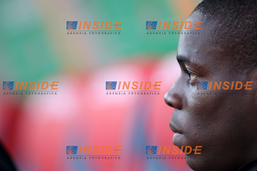 Inter's Mario Balotelli is seen during their italian serie A soccer match at Dall'Ara Stadium in Bologna , Italy , February 21 , 2009 - Photo: Prater/Insidefoto ©