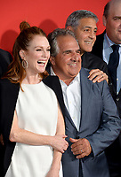 Julianne Moore, Jim Gianopulos &amp; George Clooney at the premiere for &quot;Suburbicon&quot; at the Regency Village Theatre, Westwood. Los Angeles, USA 22 October  2017<br /> Picture: Paul Smith/Featureflash/SilverHub 0208 004 5359 sales@silverhubmedia.com
