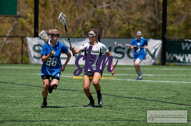 Mustang Women's lacrosse team lost 14-12 to the Elizabethtown Blue Jays in the MAC Championship game Saturday afternoon at Mustang Stadium in Owings Mills.