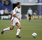 17 April 2004: Dema Kovalenko in the second half. The MetroStars defeated DC United 3-2 at Giants Stadium in East Rutherford, NJ during a regular season Major League Soccer game..