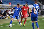 Zweikampf, Duell zwischen Jacob Bruun Larsen (Hoffenheim) und Ellyes Skhiri (1. FC Koeln), vorne Steven Zuber (Hoffenheim).<br /> <br /> Sport: Fussball: 1. Bundesliga: Saison 19/20: 28. Spieltag: TSG 1899 Hoffenheim - 1. FC Koeln, 27.05.2020<br /> <br /> Foto: Markus Gilliar/GES/POOL/PIX-Sportfotos.<br /> <br /> Nur für journalistische Zwecke! Only for editorial use!<br /> <br /> Gemäß den Vorgaben der DFL Deutsche Fußball Liga ist es untersagt, in dem Stadion und/oder vom Spiel angefertigte Fotoaufnahmen in Form von Sequenzbildern und/oder videoähnlichen Fotostrecken zu verwerten bzw. verwerten zu lassen. DFL regulations prohibit any use of photographs as image sequences and/or quasi-video.