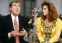 ***FILE PHOTO*** Regis Philbin Passes Away Aged 88.<br /> <br /> Regis Philbin and Kathy Lee Gifford 1988<br /> <br /> CAP/MPI/PHL/AS<br /> ©AS/PHL/MPI/Capital Pictures