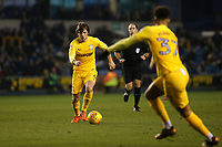 Ben Pearson of Preston North End in action during Millwall vs Preston North End, Sky Bet EFL Championship Football at The Den on 13th January 2018