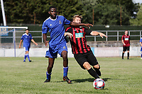 Glody Nasmu of Redbridge during Redbridge vs Saffron Walden Town, Essex Senior League Football at Oakside Stadium on 4th August 2018