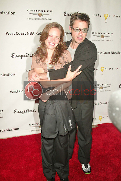 Robert Downey Jr. and fiance Susan Levin