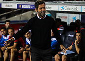 9th September 2017, Camp Nou, Barcelona, Spain; La Liga football, Barcelona versus Espanyol; Quique Sanchez Flores RCD Espanyol manager