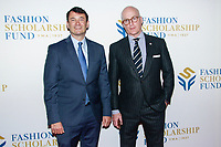 NEW YORK, NY - JANUARY 10: Hal Lawton and Peter Arnold  at 2018 Fashion Scholarship Fund Gala at the Hilton New York Midtown  on January 10, 2019 in New York City.         <br /> CAP/MPI99<br /> &copy;MPI99/Capital Pictures
