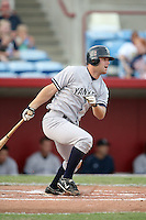 August 13, 2008: Mitch Hilligoss (6) of the Tampa Yankees at Ed Smith Stadium in Sarasota, FL. Photo by: Chris Proctor/Four Seam Images