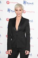 Frankie Bridge<br /> arriving for the Giving Mind Media Awards 2017 at the Odeon Leicester Square, London<br /> <br /> <br /> ©Ash Knotek  D3350  13/11/2017