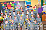 Junior infants pictured with their teacher Teresa Daughton at Drunclough, National School on Tuesday Sep 2nd. ..   Copyright Kerry's Eye 2008