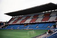 General view of Estadio Vicente Calderon, home of Atletico Madrid FC