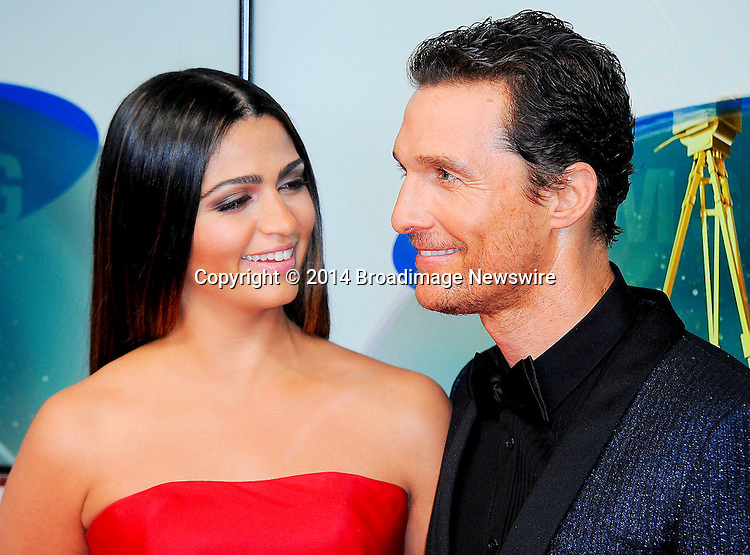 Pictured: Matthew McConaughey, Camila Alves<br /> Mandatory Credit &copy; Adhemar Sburlati/Broadimage<br /> 2014 Goldene Kamera Awards - Arrivals<br /> <br /> 2/6/14, Munich, , Germany<br /> <br /> Broadimage Newswire<br /> Los Angeles 1+  (310) 301-1027<br /> New York      1+  (646) 827-9134<br /> sales@broadimage.com<br /> http://www.broadimage.com