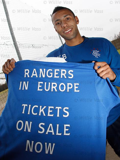 Kyle Bartley promotes Sporting Lisbon ticket sales