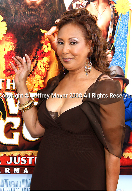 "Actress Telma Hopkins arrives at the Los Angeles Premiere of ""The Love Guru"" on June 11, 2008 at Grauman's Chinese Theatre in Hollywood, California."