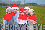 Announcing the granting of funding for a community playground in Rathmore on Thursday was Niall Kelleher, chairman Rathmore Community Council, Joanne Buckley with children Ciara O'Keeffe, Caoimhe Dineen and Amy Hickey...   Copyright Kerry's Eye 2008