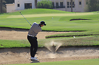 Joachim B Hansen (DEN) during the first round of the Ras Al Khaimah Challenge Tour Grand Final played at Al Hamra Golf Club, Ras Al Khaimah, UAE. 31/10/2018<br /> Picture: Golffile | Phil Inglis<br /> <br /> All photo usage must carry mandatory copyright credit (&copy; Golffile | Phil Inglis)