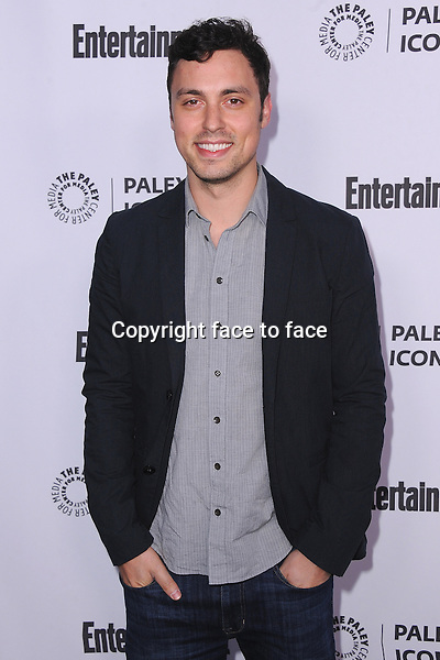 BEVERLY HILLS, CA - MARCH 10: John Francis Daley arrives at the 2014 PaleyFest Icon Award to Judd_Apatow at the Paley Center for the Media on March 10, 2014 in Beverly Hills, California.<br />