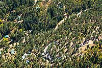 Beulah, Colorado aerial. Oct 2019 Pueblo Mountain Park