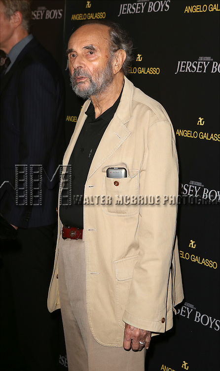 Stanley Donen attends a special New York screening  reception for 'Jersey Boys' hosted by Angelo Galasso  at Angelo Galasso on June , 2014 in New York City.