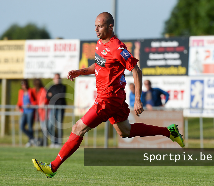 KV Oostende : Jonathan Wilmet <br /> foto VDB / BART VANDENBROUCKE