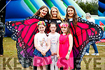 Having fun at the Kilflynn Enchanted Fairy Festival, on Sunday last, were front l-r: Anna Barrett, Rachel O'Sullivan and Molly Walsh. Back l-r: Nessa McGarty, Laura Brassil and Sally O'Mahony.