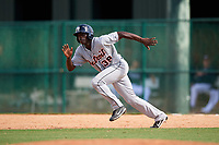 Detroit Tigers Daz Cameron (38) running the bases during an Instructional League game against the Atlanta Braves on October 10, 2017 at the ESPN Wide World of Sports Complex in Orlando, Florida.  (Mike Janes/Four Seam Images)