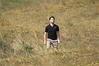 Gerard Dunne (Co. Louth) on the 14th during Round 4 of the East of Ireland Amateur Open Championship sponsored by City North Hotel at Co. Louth Golf club in Baltray on Monday 6th June 2016.<br /> Photo by: Golffile   Thos Caffrey