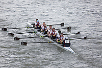 Crew: 51   Monmouth     <br /> <br /> Eights Head of the River (HoRR) 2018<br /> <br /> To purchase this photo, or to see pricing information for Prints and Downloads, click the blue 'Add to Cart' button at the top-right of the page.