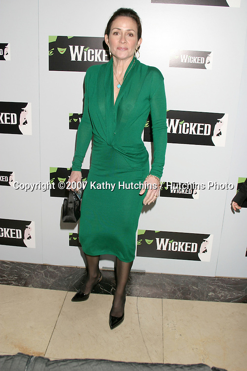 """Patricia Heaton.Opening of the Play """"Wicked"""" at the .Pantages Theater.Hollywood, CA.February 21, 2007.©2007 Kathy Hutchins / Hutchins Photo."""