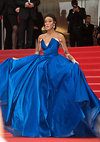 Winnie Harlow at the premiere for &quot;Loveless&quot; at the 70th Festival de Cannes, Cannes, France. 18 May  2017<br /> Picture: Paul Smith/Featureflash/SilverHub 0208 004 5359 sales@silverhubmedia.com