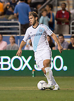 Stanislav Ivanovic.  The MLS All-Stars defeated Chelsea, 3-2.