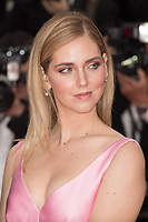 CANNES, FRANCE - MAY 13: Chiara Ferragni attends the screening of 'Sink Or Swim (Le Grand Bain)' during the 71st annual Cannes Film Festival at Palais des Festivals on May 13, 2018 in Cannes, France.