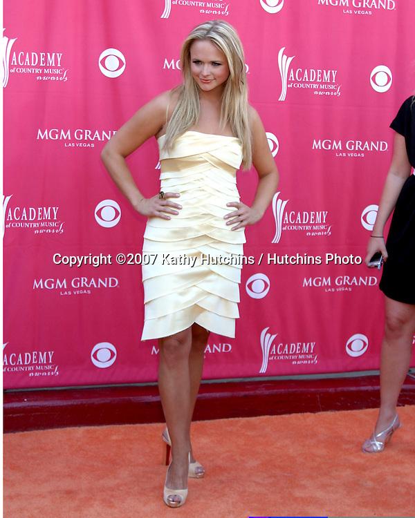 Miranda Lambert.Academy  of Country Music Awards.MGM Grand Garden Arena.Las Vegas, NV.May 15, 2007.©2007 Kathy Hutchins / Hutchins Photo....