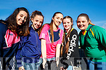 Symone Hunt, Simera Hunt, Ava Kirby, Amy Hallissey and Cheyanne Wattam, pictured at the Kingdom Greyhound Stadium, Tralee, GAA Night of Champions on Friday night last.