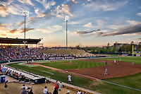 Dale Mitchell Park on Friday April 1st, 2011 in Norman, Oklahoma.  (Photo by Andrew Woolley / Four Seam Images)