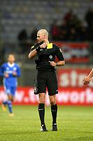 EMMEN - Voetbal, FC Emmen - Almere City, Jens Vesting, Jupiler League, seizoen 2017-2018, 17-11-2017,  arbiter Dieperink