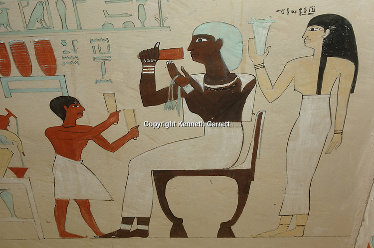 Sarcophagus of Ashayt, detail, Black Pharaohs, Nubians, Egypt, The Egyptian Museum, Cairo, 11th dynasty, Mentuhotep II, Middle Kingdom