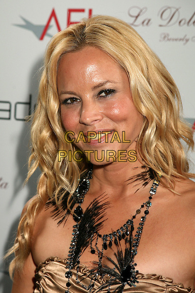 MARIA BELLO.La Dolce Vida Restaurant Celebrates 40th Anniversry, Beverly Hills, Los Angeles, California, USA, .22 June 2006..portrait headshot black necklace.Ref: ADM/BP.www.capitalpictures.com.sales@capitalpictures.com.©Byron Purvis/AdMedia/Capital Pictures.