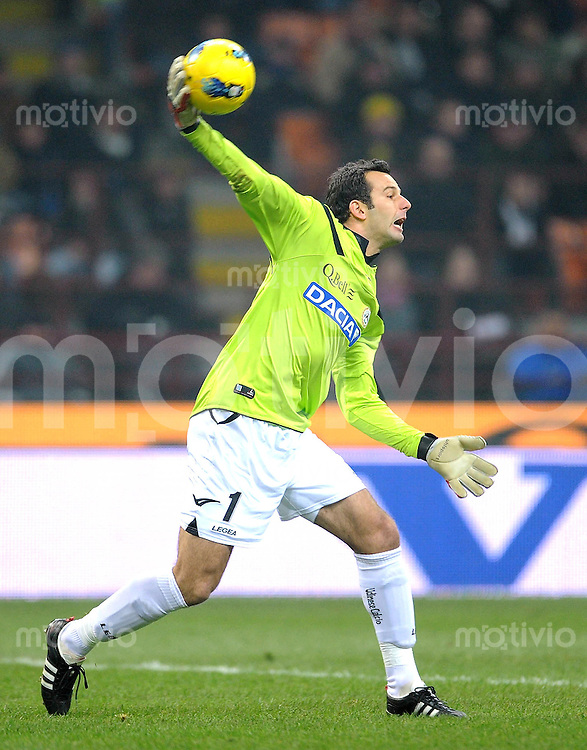 FUSSBALL INTERNATIONAL   SERIE A   SAISON 2011/2012    Inter Mailand - Udinese Calcio   03.12.2011 Samir Handanovic (Udinese Calcio)
