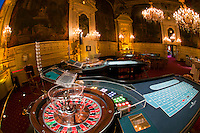 American roulette tables, Florentina Room, Casino Baden Baden, Baden Baden, Baden-Württemberg, Germany
