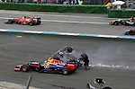 Crash of Felipe Massa (BRA), Williams GP<br />  Foto &copy; nph / Mathis