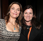 Kathryn Erbe & Mare Winningham attending the Opening Celebration for 'Checkers' at the Vineyard Theatre in New York City on 11/11/2012