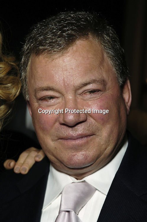 William Shatner  ..at The Broadcasting and Cable 15th Annual Hall of Fame..Awards Dinner at the Waldorf Astoria on October 24, 2005...The Awards are given by  Broadcasting and Cable Magazine.                                                                          Photo by Robin Platzer, Twin Images